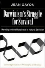 Darwinism's Struggle for Survival: Heredity and the Hypothesis of-ExLibrary