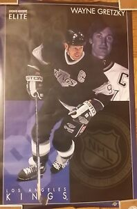 Vintage 1994 Costacos Poster Wayne Gretzky Los Angeles Kings ~ (24 x 36)