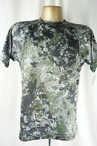 Sitka Men's Small Core Crew Short Sleeved Shirt Elevated Forest UG-0080-OF-S