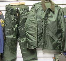 NOS US Navy Impermeable Extreme Cold Weather Jacket & Trousers Set Small USN