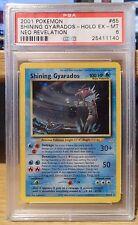 Shining Gyarados Neo Revelation 65/64 PSA 6 Excellent - Mint Ultra Rare Holo