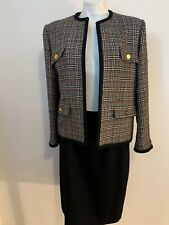 Vintage BURBERRY plaid suit
