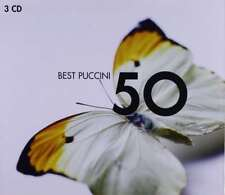 New: 50 PUCCINI Best Sellers (Tosca w/Maria Callas, Madama Butterfly+) 3-CDs