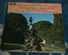 ELGAR THE WAND OF YOUTH SUITES 1 & 2 UK LP HMV ASD 2356 BOULT, SEMI-CIRCLE
