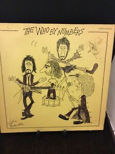 The Who By Numbers Vinyl Record
