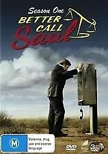 BETTER CALL SAUL The Complete Season One 1 (3 Disc DVD)  Region 4 *NEW & SEALED*