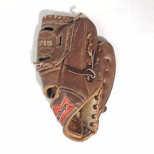 Vintage 1970s MacGregor Hank Aaron 715 Home Run King Leather Baseball Glove