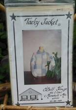 """Vintage Cloth Quilted Jacket  Pattern  Multisize """"Tacky Jacket"""" New and Unused"""