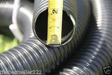"""Pond Pump 2"""" Non Kink Corrugated Pond Tubing & Hose ( Black 50mm 25' )"""