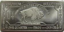 USA 1/4 oz Unze  999 Niob Niobium Barren American Buffalo Selten in Kapsel
