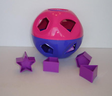 Tupperware Shape o Toy Ball Pink & Purple Learning Toy Brand New