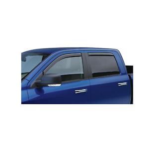 EGR 4pc Front & Rear Smoke Window Visor In Channel for 02-10 Explorer # 573431