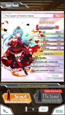 [The Queen of Hearts]Asuna 5* Sword Art Online Memory Defrag FRESH ACCOUNT EU