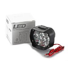 2 x 15w LED Motorcycle Spotlight Headlights 12V Motorbike Driving Headlamps NEW