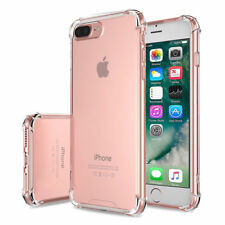 For iPhone 8 PLUS Case Clear Cover Shockproof Rubber Protective TPU High Quality
