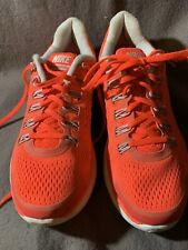 Nike Lunarglide 4 tennis shoes Size 8 Hot Pink Fitsole Woman Ladies