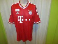 """FC Bayern München Original Adidas Heim Trikot 2013/14 """"-T---"""" Gr.L TOP"""