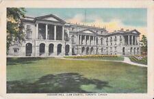 Canada Vintage Postcard - Osgoode Hall Law Courts, Toronto, ON - pc43