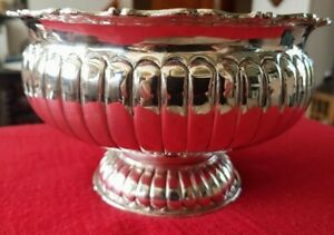 Beautiful Antique Sterling Silver Bowl (c.1950) - Hallmarked 925