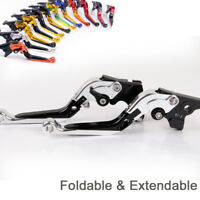 Folding&Extendable Brake Clutch Levers For YAMAHA FZR1000 EXUP 1991-1995/YZF1000
