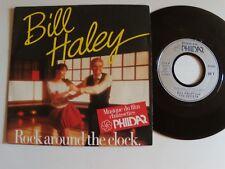 "BILL HALEY: Rock around the clock - B.O film chaussettes PHILDAR 7"" 45T PHL 9584"