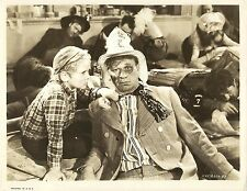 """JACKIE COOPER & WALLACE BEERY in """"The Bowery"""" Original Vintage Photo 1933"""