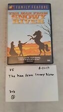 The Man From Snowy River / 20th Century Fox Family Feature / Very Good DVD 81117