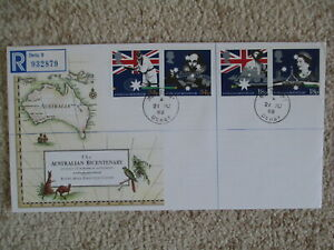 1988 AUSTRALIAN BICENTENARY GPO FIRST DAY COVER, MELBOURNE LISTED CDS CANCEL