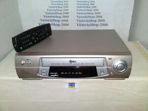 LG BD268I VHS VCR Video Recorder -NTSC PB-Crystal picture-Easy Graphic MENU - LP