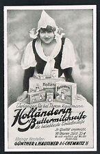 CHEMNITZ, Werbung 1929, Günther & Haussner AG, Buttermilch-Seife, Reklame /115