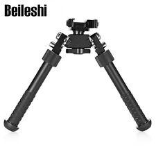 Adjustable 4.75-9'' Hunting Tactical Rifle Bipod Sling 360° Swivel Holder Mount