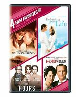 4 Film Favorites: Meryl Streep Bridges of Madison County, Hours, Heartburn (DVD)