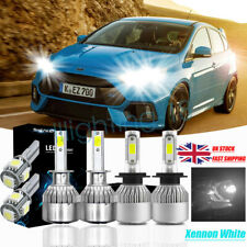 For Ford Custom Transit Headlight Bulbs High Low Side light Bulb Xenon White 6x