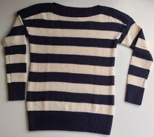 NWOT Gap boatneck striped sweater S