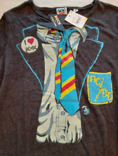 Rock by Junk Food AC/DC Tie NWT Graphic Tee Short Sleeve XL