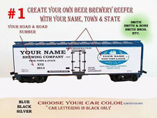 HO CUSTOM LETTERED YOUR NAME OR BUSINESS ON A REEFER A GREAT GIFT GET CREATIVE