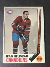 1969-70 O PEE CHEE #10 JEAN BELIVEAU WITH STAMP