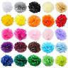 6PCS Colorful Tissue Paper Pompoms Pom Poms Flower Balls Fluffy Wedding Party
