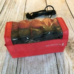 Remington Hot Hair Curlers Travel Rollers H-1015 Pageant Curls Compact