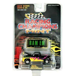 Racing Champions Mint 1996 96 Dodge Ram 4x4 Pickup Truck Black Die Cast 1/61