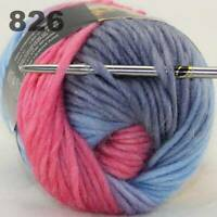 Sale 1Skein x50g Chunky Hand Wool Colorful Scarves Hand Knitting Crochet Yarn 26
