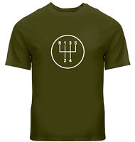 Manual Transmission Shift Pattern 5 Speed Stick Shirts Mens Unisex Tee T-Shirt