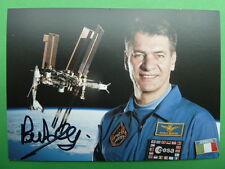 . Paolo Nespoli (ITA), astronauta-ESA AUTOGRAFO carta firmato