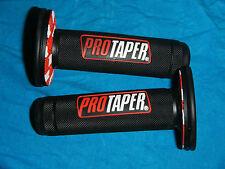 7/8 inch PRO TAPER HANDLE BAR MX GRIP SET Suzuki 50 60 70 75 80 85 90 100 110