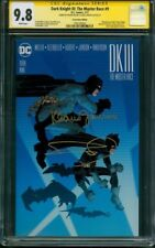 Batman Dark Knight III 9 CGC 2XSS 9.8 Frank Miller Con Exclusive 2017 Variant