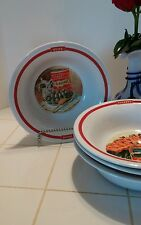 "Pottery Barn Poster Le Soleil 10"" Set of 4 Pasta Bowl Bowls Serving Vegetable"