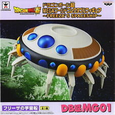 BANPRESTO DRAGONBALL Z MEGA WCF FREEZA SPACESHIP FREEZER NAVICELLA ORIGINALE
