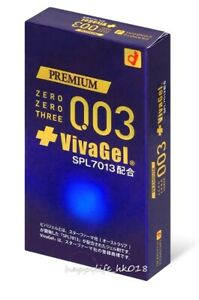 New Okamoto 0.03 Vivagel (Japan Edition) 10's Pack Latex Condom 1 pack