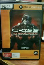Crysis Maximum Edition (4 discs) PC GAME - FAST POST