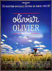 Affiche OLIVIER, OLIVIER Brigitte Rouan FRANCOIS CLUZET Stévenin 40x60cm